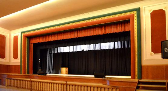 Instal·lacions sala d'actes / teatre